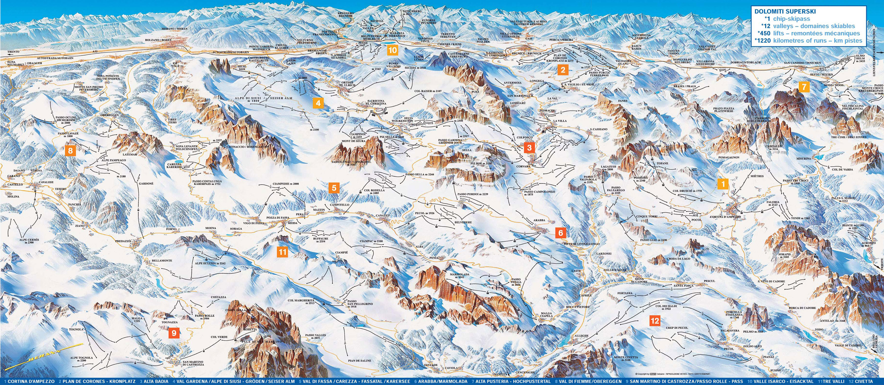 Dolomiti - HAZ DOBLE CLICK PARA AMPLIAR
