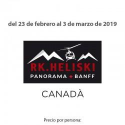 Heli-ski Canadá
