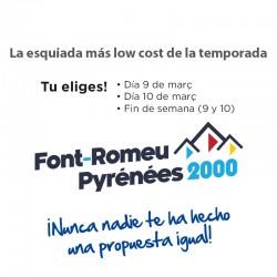 9 i 10 de març - Font Romeu...
